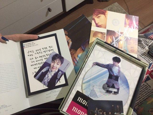 album kpop monsta x beautiful versão brilliant com brindes - Foto 6