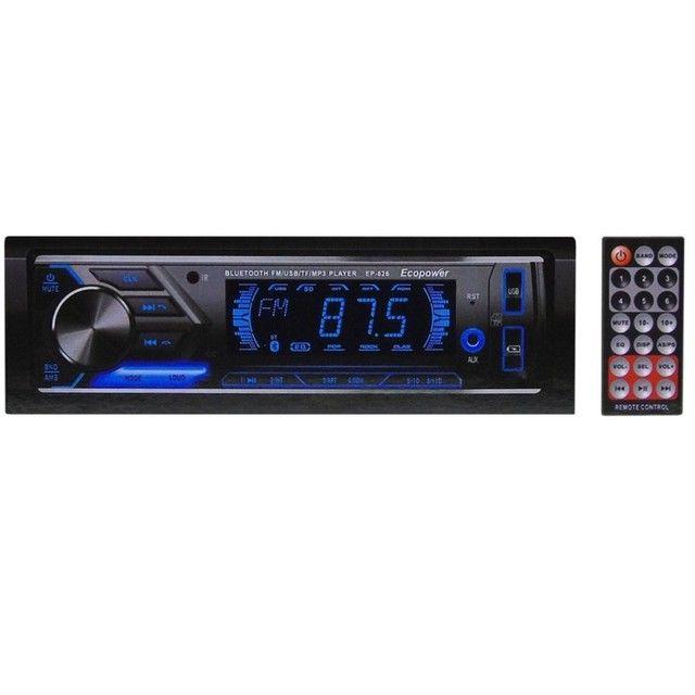 Rádio automotivo Novo Bluetooth R$110 - Foto 10