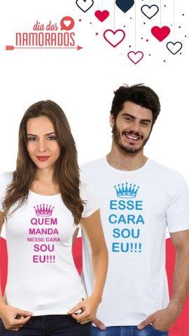 Camisas Personalizadas - Dia dos Namorados - Foto 4