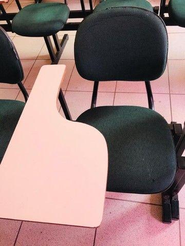 Carteira Universitária. Cadeira Escolar.  - Foto 4