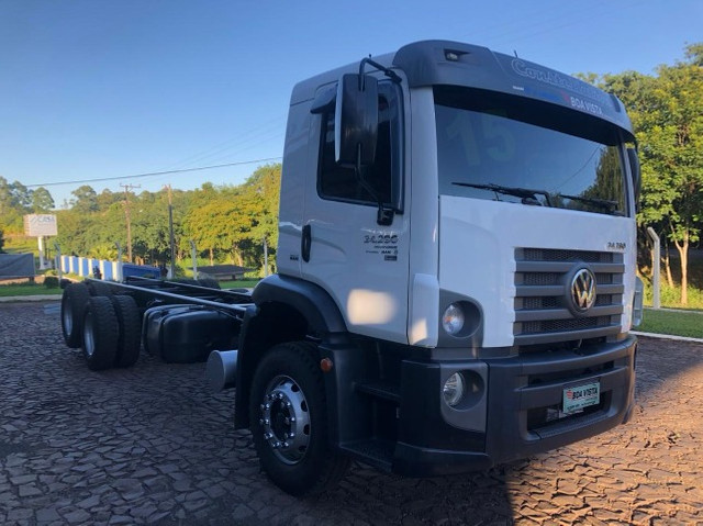 VW 24.280 Constellation 6X2 2015/2015 - Chassi - Foto 3