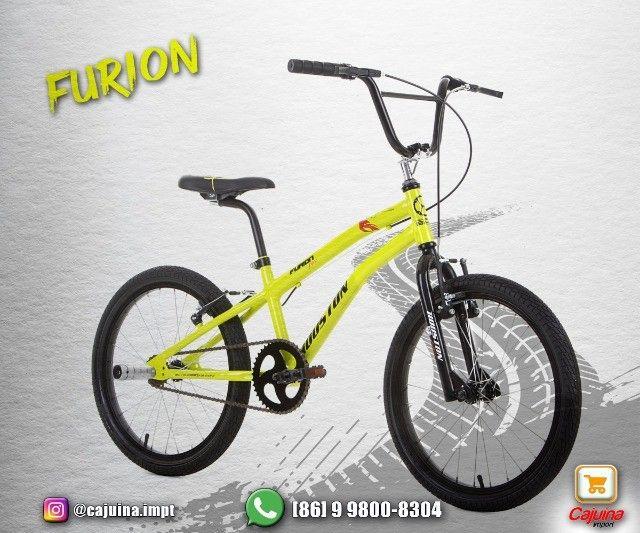Bicicleta Infantil Aro 20 Houston Furion - Azul T17sd9sd21 - Foto 3