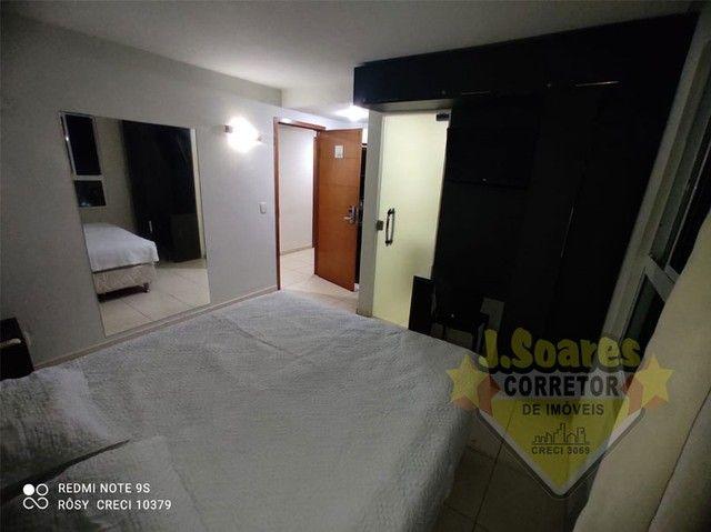 Cabo Branco,  Flat Beira mar, 33m², R$ 1.800, Aluguel, João Pessoa, Paraíba - Foto 4