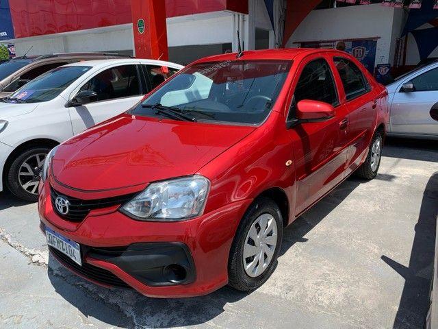 Toyota Etios 2018 com KIT GÁS Completo Otima Oportunidade  - Foto 3