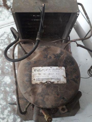 Compressor elgin TCA-1022 / termostato / 4 prateleira de refrigerador   - Foto 3