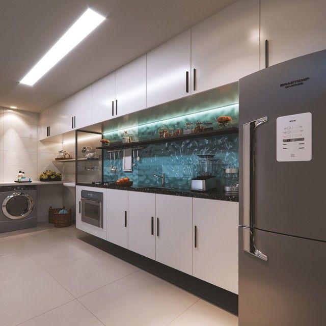 Vendo apartamento com solarium privativo em jaguaribe  - Foto 4