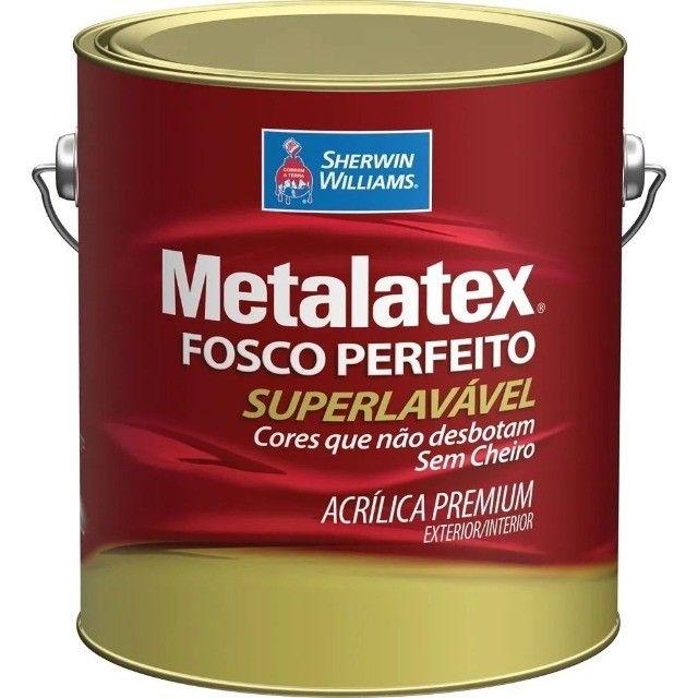Tinta Metalatex Super Lavável - Foto 2
