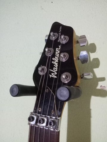 Guitarra washburn Top RARIDADE - Foto 2