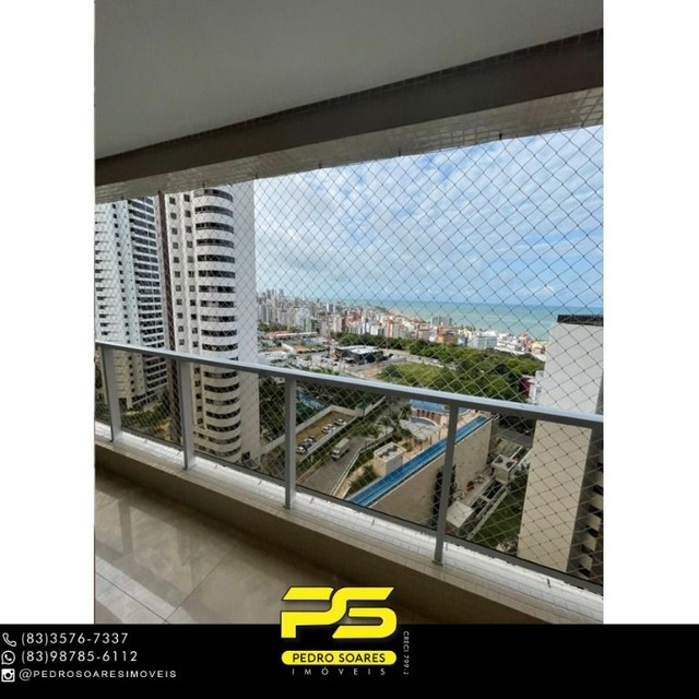 Apartamento com 3 dormitórios para alugar, 190 m² por R$ 6.200/mês - Altiplano Cabo Branco - Foto 2