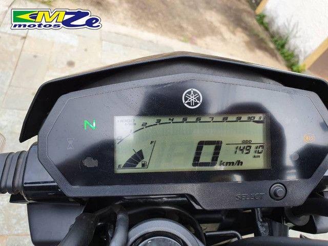 Yamaha FZ 25 Fazer 2020 Preta com 15.000 km - Foto 16