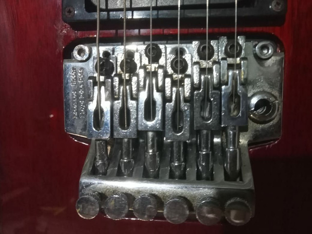 Guitarra washburn Top RARIDADE - Foto 4