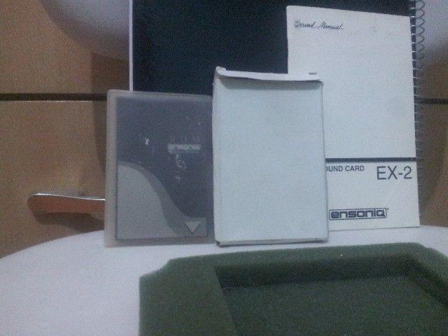 Cartão rom Ensoniq Sound Card Ex-2 para KS-32 Series e SQ1-2 plus series e outros Ensoniqs - Foto 5
