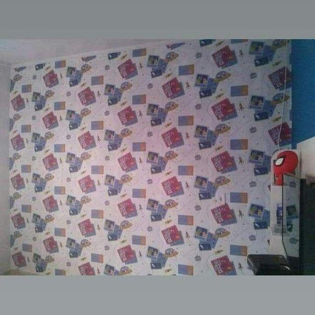 Papel de parede e cortinas e persianas - Foto 2