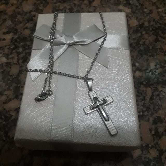 Corrente de Prata com Pingente crucifixo  - Foto 3