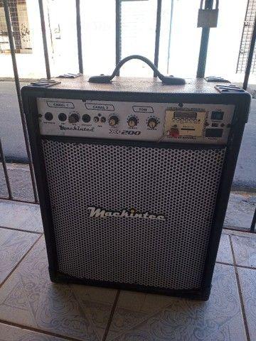 Caixa amplificado machintec auto falante de 10 ZAP 988-540-491