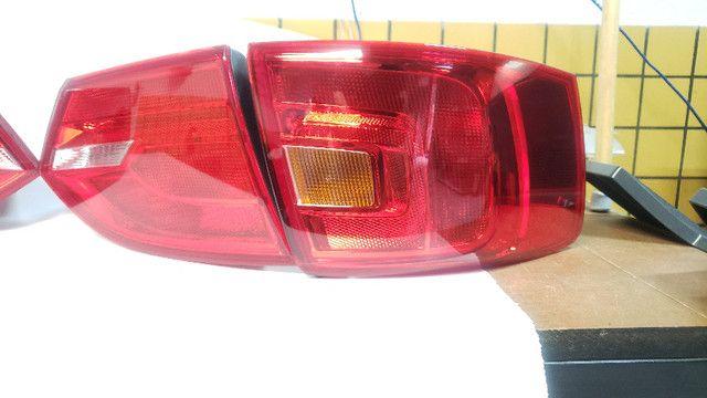 Jogo completo Lanterna Traseira Jetta TSi 2012 - Usado, Original - Foto 10