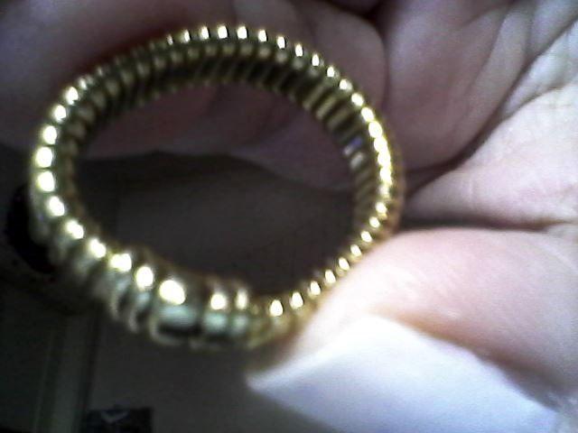 Anéis ouro três 18K novos com total 15.1gr - Foto 3