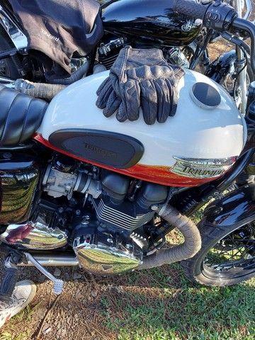 Triumph bonevillee T100 13 mil km - Foto 5