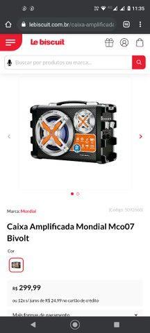 Caixa amplificadora rádio bluetooth - Foto 3
