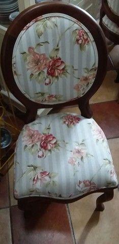 Jogo com 5 Cadeiras Coloniais - Foto 2