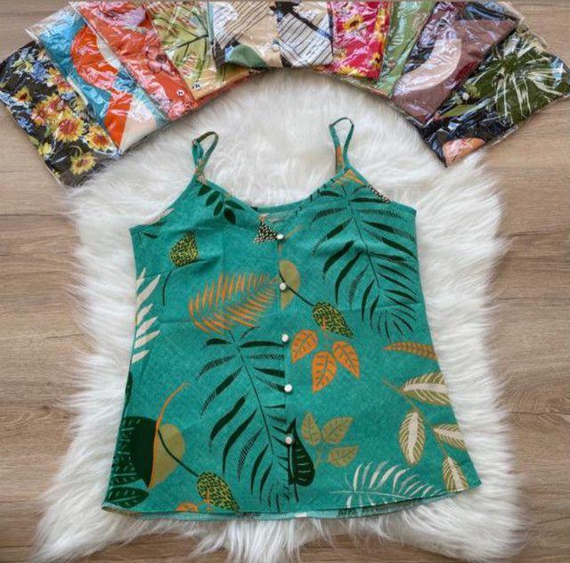 Blusa feminina Estampada  - Foto 3