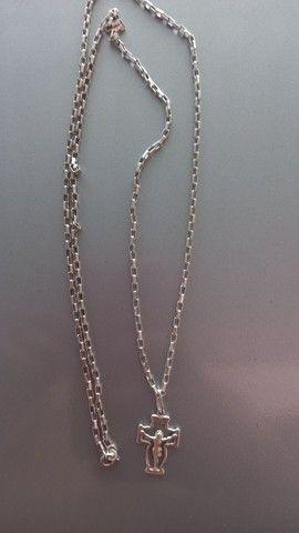 Cordão de prata - Foto 4