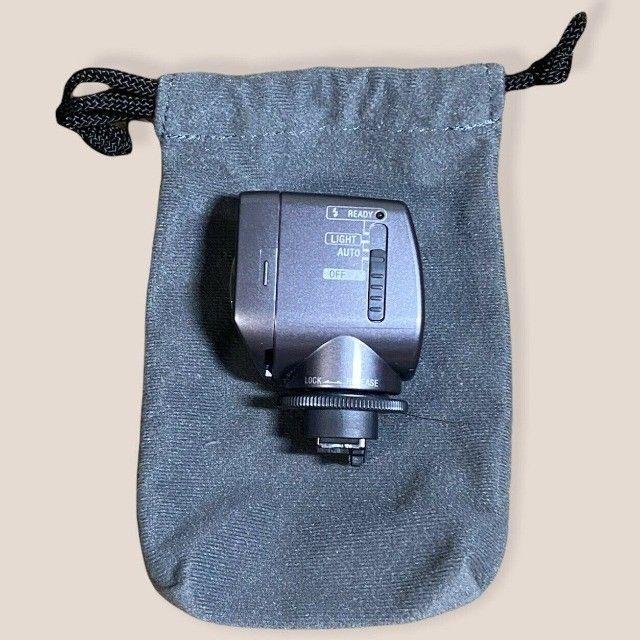 Iluminador Sony Hvl-hfl1 Com Luz E Flash Para Filmadoras  - Foto 3