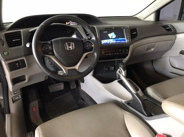 Honda Civic lxs 1.8 automatico 2014 - Foto 11