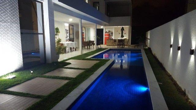 Deslumbrante casa de luxo em condomínio fechado em 2 terrenos  - Foto 2