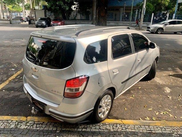Chevrolet Spin LTZ Automático 7 Lugares TOP Multimídia Rodas GNV 5a Ger. Muito Novo 2016 - Foto 3