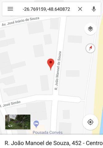 Terreno de 311,25 m2 na cidade de Penha - Praia do Quilombo
