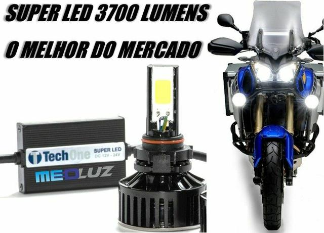Lâmpada Super LED Moto