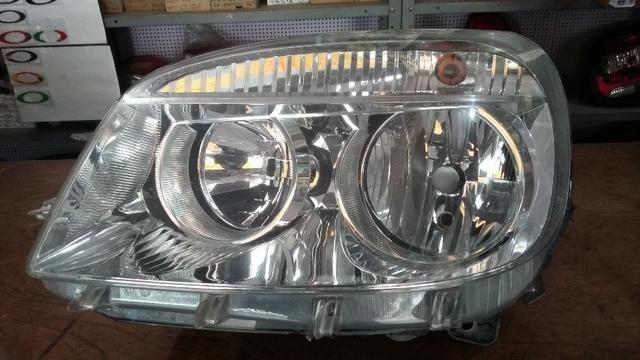 Fiat Doblo - 2010 em diante - Máscara Negra ou Cromada - Original