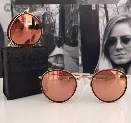 Óculos Ray-Ban round dobrável original - Bijouterias, relógios e ... 789103570c