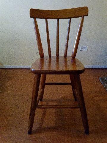 Cadeiras Country + mesa redonda