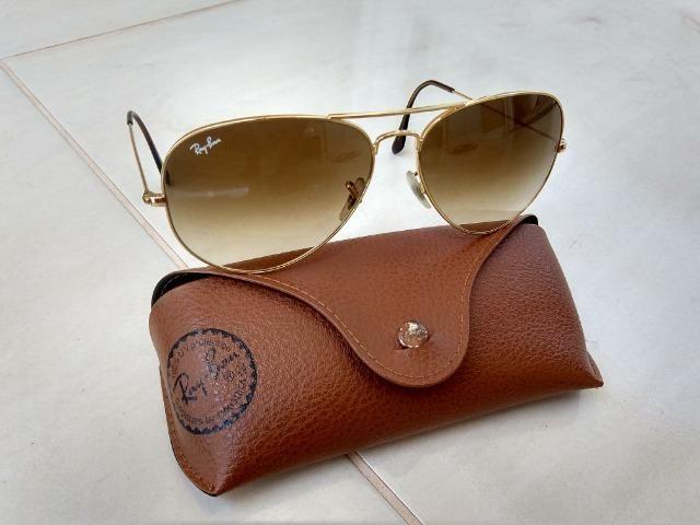 2d283fe48 Óculos Ray-Ban Aviador Feminino original - Bijouterias, relógios e ...