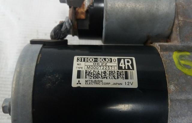 Motor De Arranque Suzuki Sx4 2010/2011 Revisado Com Garantia - Foto 3