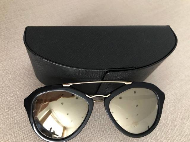 63d6305fdc453 Óculos Prada Espelhado- Original - Bijouterias