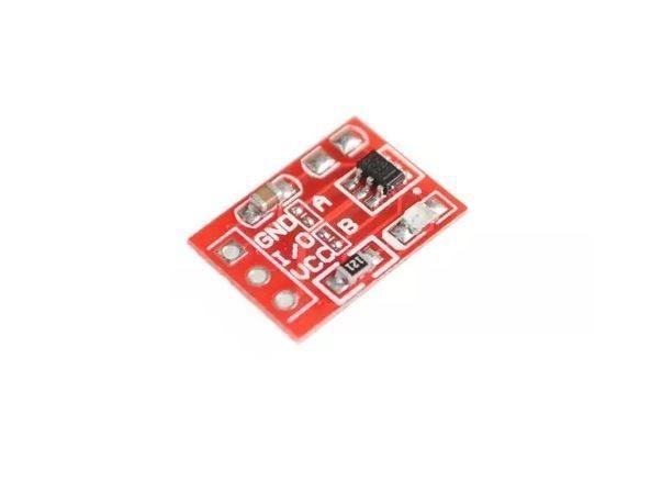 COD-AM105 Mini Sensor Touch Capacitivo Chave Toque Arduino Automação Robotica - Foto 2