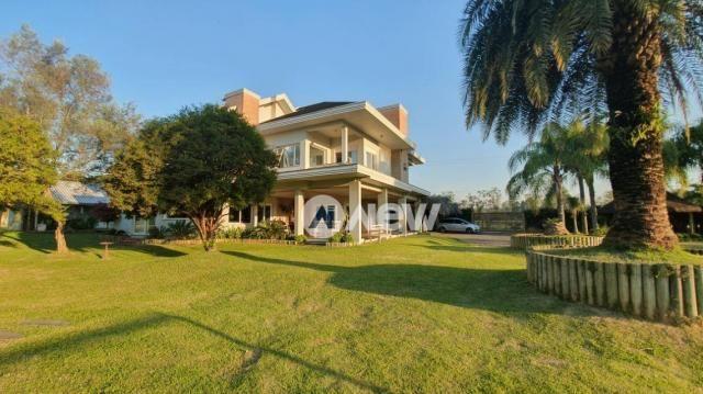 Casa com 4 dormitórios à venda, 506 m² por r$ 2.300.000,00 - lomba grande - novo hamburgo/ - Foto 3