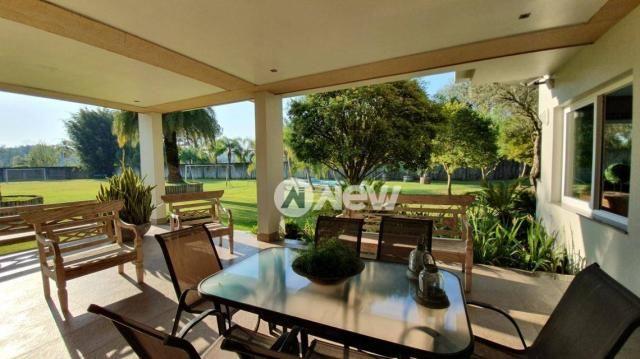 Casa com 4 dormitórios à venda, 506 m² por r$ 2.300.000,00 - lomba grande - novo hamburgo/ - Foto 12
