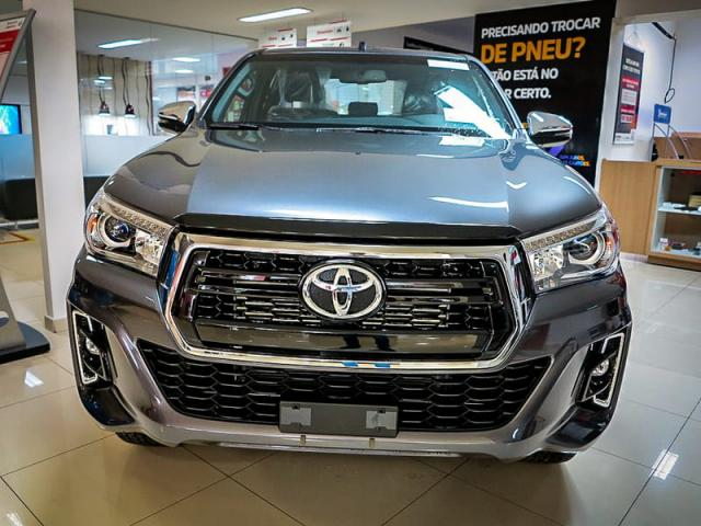 TOYOTA HILUX CD DSL 4X4 SRX AT 19/20 - Foto 2