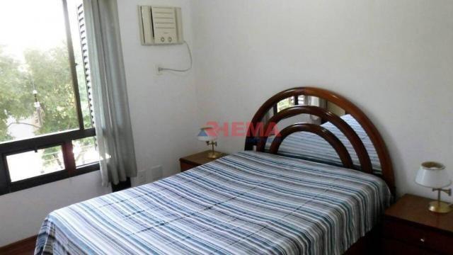Apartamento com 3 dormitórios à venda, 180 m² por R$ 925.000,00 - Gonzaga - Santos/SP - Foto 8