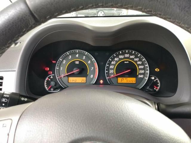 Corolla 1.8 xei 2009 flex unico dono - Foto 7