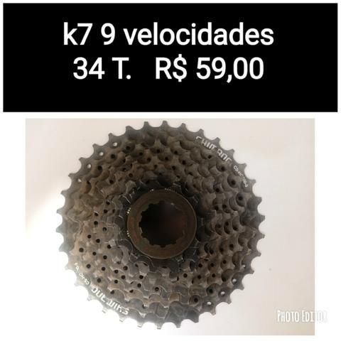 K7 9 velocidades