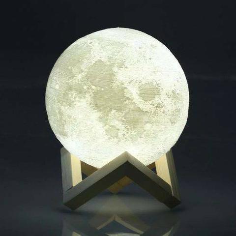 Luminária Lua Cheia e várias cores-(Loja na Cohab), Adquira Já - Foto 2