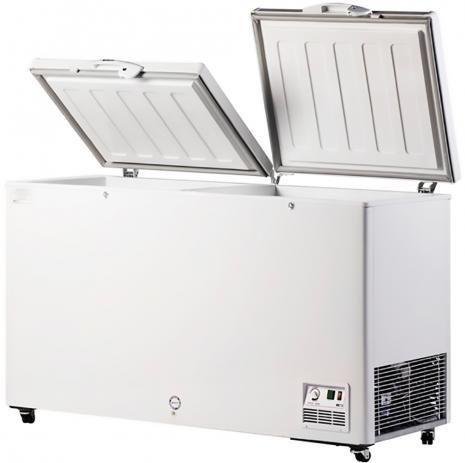 Freezer horizontal tampa cega ou tampa de vidro - Foto 5