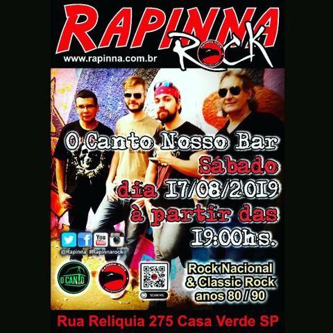 Banda De Rock Anos 8090 Barzinho Aniversários Eventos