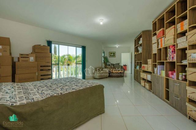 Casa com 5 suítes em condomínio. aceita permuta por apartamento. linda vista para um vale  - Foto 17