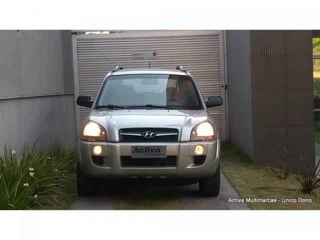 Hyundai Tucson 2.0 MPFI GL 16V 142CV 2WD GASOLINA 4P AUTOMÁTICO - Foto 8